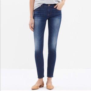 Madewell Skinny Skinny Crop Medium Wash Jeans